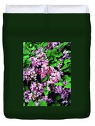 Lilacs In May Duvet Cover
