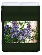 Lilacs In Spring Duvet Cover