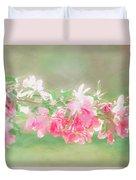 Lilacs In Sunshine Duvet Cover
