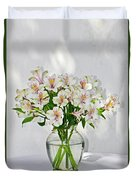 Lilies In A Vase 001 Duvet Cover