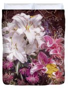 Lilies Duvet Cover