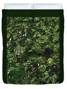 Lilies Of The Lake Duvet Cover