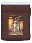Lilith Satan Adam And The Fruit Duvet Cover