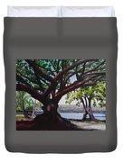 Liliuokalani Park Tree Duvet Cover