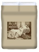 Lillie Langtry (1852-1929) Duvet Cover