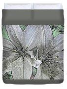 Lillies Duvet Cover