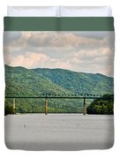 Lilly Bridge - Hinton West Virginia Duvet Cover