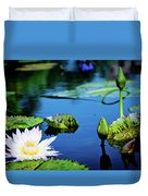 Lilly Pad Duvet Cover