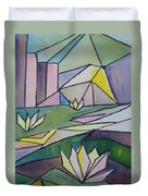 Lilly Pond Duvet Cover
