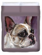 Lilly The French Bulldog Duvet Cover