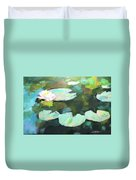 Lillypad Reflections Duvet Cover