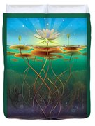 Water Lily - Transmute Duvet Cover