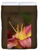 Lily Bloom Duvet Cover