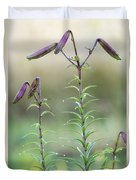 Lily Buds Duvet Cover