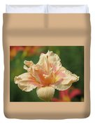 Lily Flower - Daylily Duvet Cover