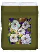 Lily Garden With Shadows And Light Duvet Cover