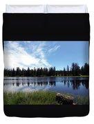 Lily Lake Duvet Cover