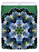 Lily Medallion Duvet Cover