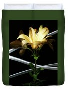 Lily Of The Field Duvet Cover
