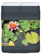 Lily Pad Lunch Duvet Cover