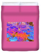 Lily Pads And Koi 17 Duvet Cover