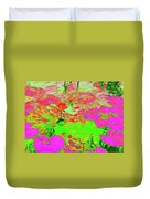 Lily Pads And Koi 19 Duvet Cover