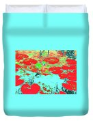 Lily Pads And Koi 8 Duvet Cover