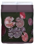 Lily Pads In The Pond Duvet Cover