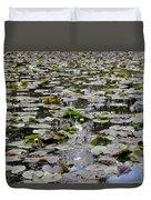 Lily Pond Duvet Cover