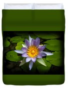 Lily Queen Of The Pond  Duvet Cover