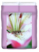 Lily Toad Duvet Cover