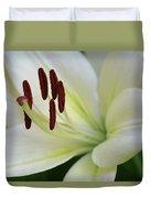 Lilywhite Duvet Cover