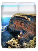 Limestone Cliff Duvet Cover