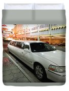 Limo Waiting Duvet Cover