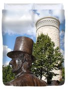 Lincoln At The Tower Duvet Cover