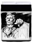 Lincoln Carved Duvet Cover