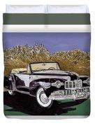 Lincoln Continental Mk I Duvet Cover
