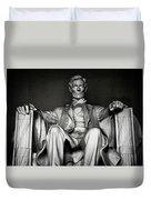 Lincoln Memorial Duvet Cover by Daniel Hagerman