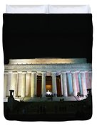 Lincoln Memorial - From Reflecting Pool Duvet Cover