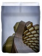 Abstract Of Peoples Gas Pavillon Duvet Cover