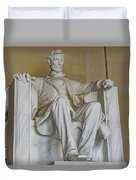 Lincoln Statue Duvet Cover