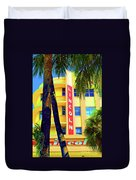 Lincoln Theatre - Sobe Duvet Cover