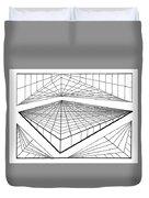 Line Design  Duvet Cover