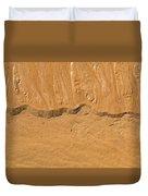 Line In The Sand Duvet Cover