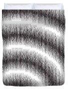 Linear Spiral Duvet Cover