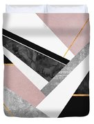 Lines And Layers Duvet Cover by Elisabeth Fredriksson