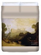 Linlithgow Palace Duvet Cover