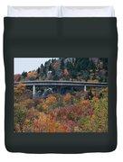 Linn Cove Viaduct Duvet Cover