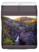 Linville Falls Duvet Cover