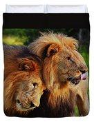 Lion 22 Duvet Cover